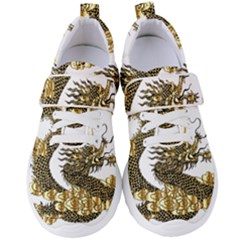 Dragon Animals Monster Women s Velcro Strap Shoes