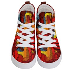 Dragon Metallizer Kids  Hi-top Skate Sneakers