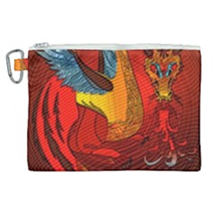 Dragon Metallizer Canvas Cosmetic Bag (xl)