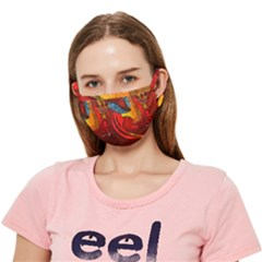 Dragon Metallizer Crease Cloth Face Mask (adult)