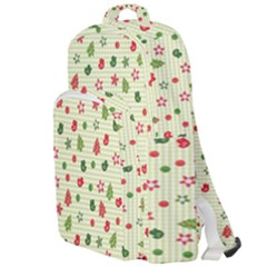 Cute Christmas Pattern Double Compartment Backpack