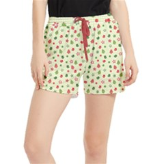 Cute Christmas Pattern Runner Shorts
