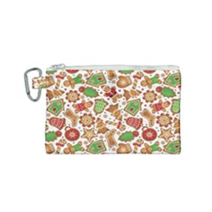 Christmas Love 6 Canvas Cosmetic Bag (small)