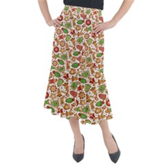 Christmas Love 6 Midi Mermaid Skirt