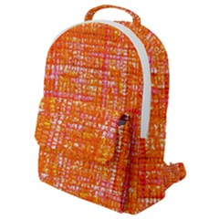 Mosaic Tapestry Flap Pocket Backpack (small)