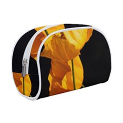 Yellow Poppies Makeup Case (small)
