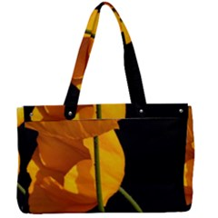 Yellow Poppies Canvas Work Bag by Audy