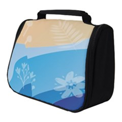 Flower Branch Corolla Wreath Lease Full Print Travel Pouch (small)