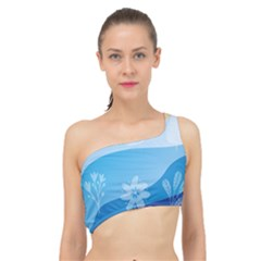 Flower Branch Corolla Wreath Lease Spliced Up Bikini Top