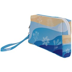Flower Branch Corolla Wreath Lease Wristlet Pouch Bag (small)