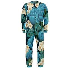 Blue Roses Onepiece Jumpsuit (men)  by goljakoff