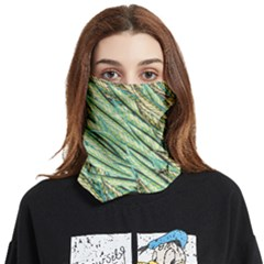 Green Leaves Face Covering Bandana (two Sides) by goljakoff