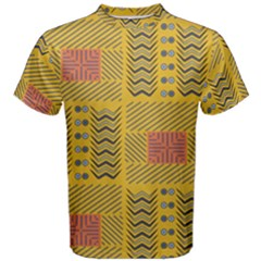Digital Paper African Tribal Men s Cotton Tee