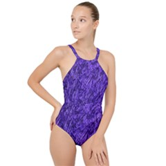 Gc (93) High Neck One Piece Swimsuit