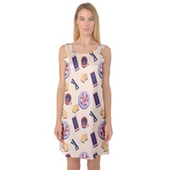 Breakfast Love Breakfast Love Sleeveless Satin Nightdress