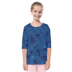 Gc (35) Kids  Quarter Sleeve Raglan Tee