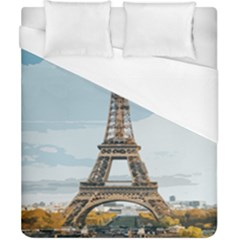 The Eiffel Tower  Duvet Cover (california King Size) by ArtsyWishy