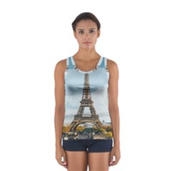 The Eiffel Tower  Sport Tank Top  by ArtsyWishy