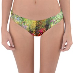 Forest Flowers  Reversible Hipster Bikini Bottoms by ArtsyWishy
