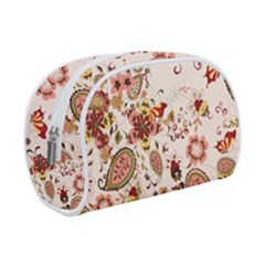 Red Floral Baatik Print Red Floral Baatik Print Make Up Case (small)