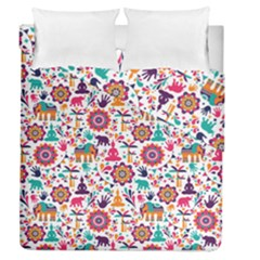 Indian Love Duvet Cover Double Side (queen Size)