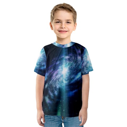 The Galaxy Kids  Sport Mesh Tee by ArtsyWishy