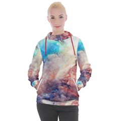 Galaxy Paint Women s Hooded Pullover