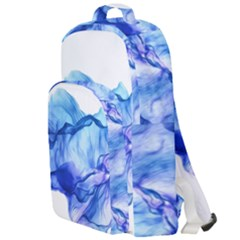 Blue Smoke Double Compartment Backpack