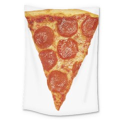 Pizza Slice Large Tapestry by dajjj