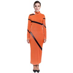 Basketball Turtleneck Maxi Dress