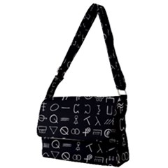 Hobo Signs Collected Inverted Full Print Messenger Bag (s)
