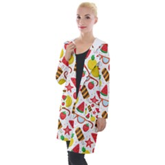 Summer Love Hooded Pocket Cardigan