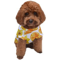 Oranges Love Dog T-shirt by designsbymallika