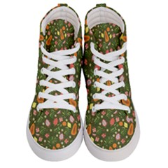 Tropical Fruits Love Women s Hi-top Skate Sneakers