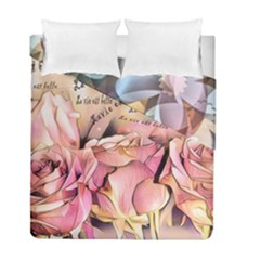 Motif Florale 96676017 10218089188116536 5855340343544774656 O Duvet Cover Double Side (full/ Double Size)