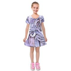 ¨|motion Kids  Short Sleeve Velvet Dress by 300927
