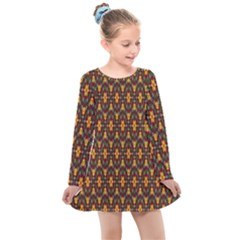 Wqerg Kids  Long Sleeve Dress by Sparkle