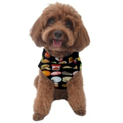 Glitch Glitchen Food Pattern Two Dog Sweater by WetdryvacsLair