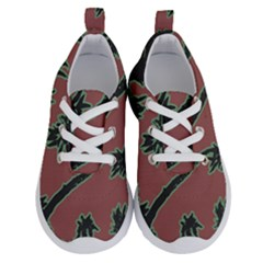 Tropical Style Floral Motif Print Pattern Running Shoes by dflcprintsclothing