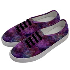 Multicolored Abstract Men s Classic Low Top Sneakers by Dazzleway