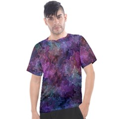 Multicolored Abstract Men s Sport Top