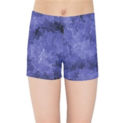Lilac Abstract Kids  Sports Shorts