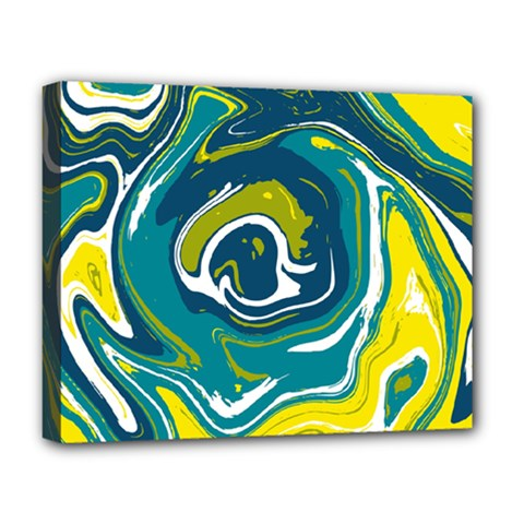 Vector Vivid Marble Pattern 14 Deluxe Canvas 20  X 16  (stretched) by goljakoff