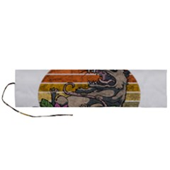 Possum - Mentally Sick Physically Thick Roll Up Canvas Pencil Holder (l) by Valentinaart