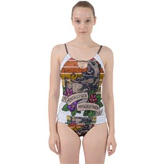 Possum - Mentally Sick Physically Thick Cut Out Top Tankini Set