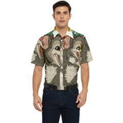 Possum - Be Urself Men s Short Sleeve Pocket Shirt