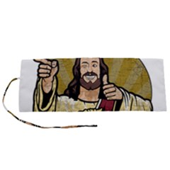 Buddy Christ Roll Up Canvas Pencil Holder (s) by Valentinaart