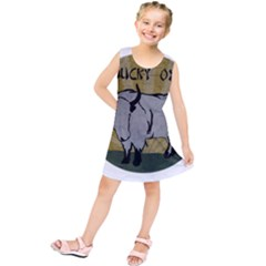 Chinese New Year ¨c Year Of The Ox Kids  Tunic Dress