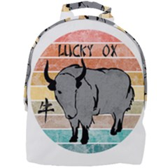 Chinese New Year ¨c Year Of The Ox Mini Full Print Backpack by Valentinaart