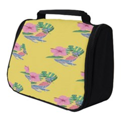 Floral Full Print Travel Pouch (small) by Sparkle